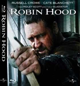 Naslovnica Blu Raya 'Robin Hood'