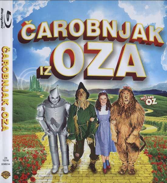 Čarobnjak iz Oza (dvostruko Blu Ray izdanje)