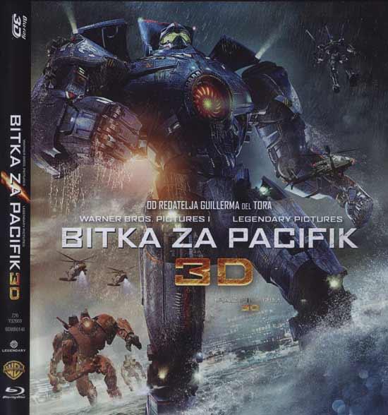 BLU RAY: BITKA ZA PACIFIK 3D & 2D, akcijski SF [osvrt Robert Jukić] (trostruko Blu Ray izdanje!)