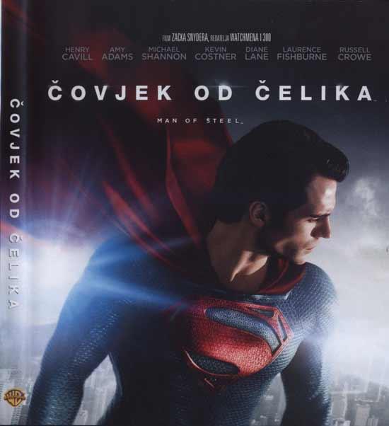Nova Blu Ray izdanja: Čovjek od čelika